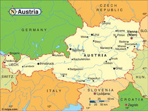 About austria the 6th world congress on controversies in neurology with an area of 83858 sq km austria consists of 9 independent federal states burgenland carinthia lower austria upper austria salzburg styria tyrol gumiabroncs Choice Image